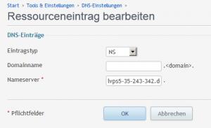 DNS_Hostname_Ressourceneintrag bearbeiten