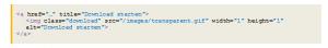 Implementierung im HTML
