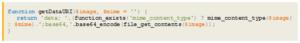 Base64-Kodierung mit Hilfe von PHP
