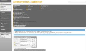 SSL-Zertifikat einbinden bei einem managed Server