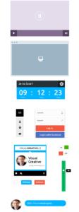 Minimalistisches UI Kit