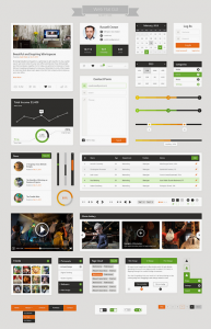 Flat Web UI Kit