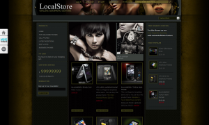 Fashion Theme Screenshot