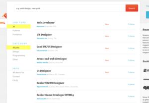 WordPress als Job-Börse