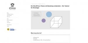 Ein WordPress-Theme mit Bootstrap entwickeln