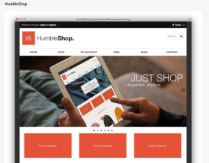 Bootstrap-Theme Humble Shop