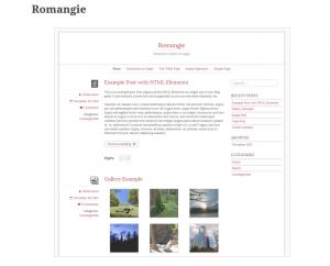 Bootstrap-Theme Romangie