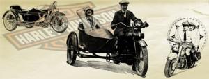 Harley Davidson Vintage Pinselspitzen für Photoshop
