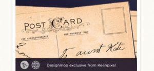 Vintage-Postkarte