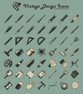 Vintage-Icons