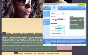Presence Builder_Themen_Editor