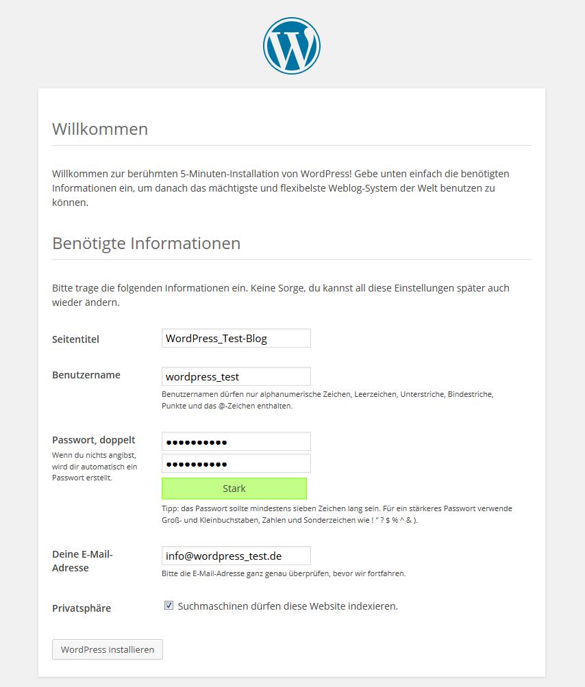 Manuelle WordPress-Installation | Host Europe Blog