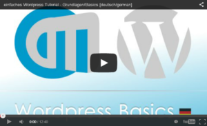 WordPress_Tutorial_Grundlegende_Funktionen