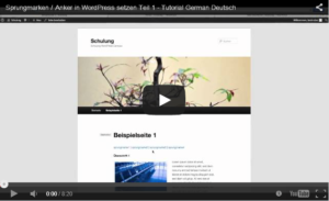 WordPress_Tutorial_Sprungmarken_erstellen