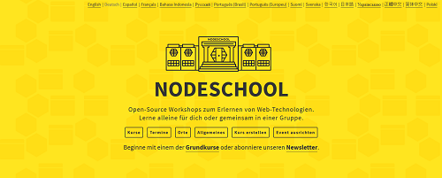 Node School Homepage