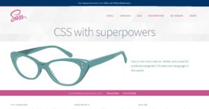 Sass Projekt-Homepage