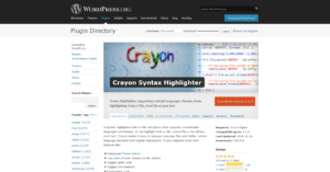 WP-Plugin crayon