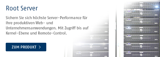 Root Server von Host Europe