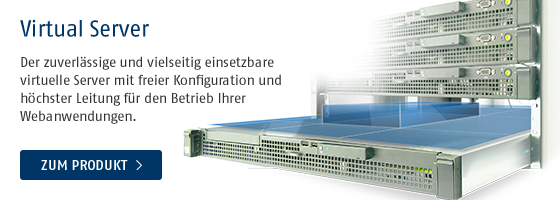 Virtual Server von Host Europe