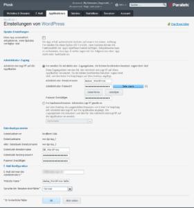 Einstellungen von WordPress_über_Plesk ändern