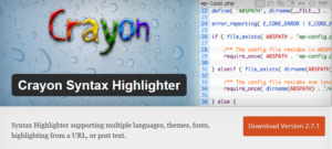 Abbildung: Crayon-Syntax-Highlighting