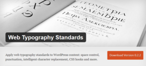 Abbildung: Web Typography Standards