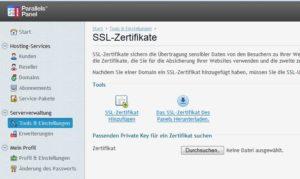 Plesk_SSL-Zertifikat-hinzufügen