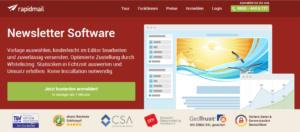 Abbildung: Newsletter-Tool Rapidmail