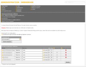Abbildung - Domainzuordnung editieren