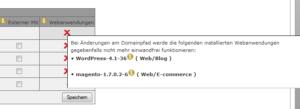 Abbildung - Infos zu Webanwendungen