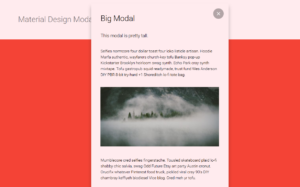 Abbildung - Material Design