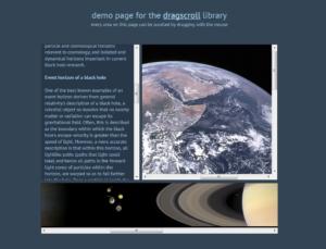 Abbildung - dragscroll