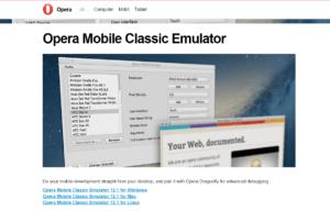 Abbildung_Opera Mobile Classic Emulator