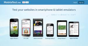 Abbildung: Mobile Test me