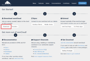 Download ownCloud