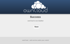 ownCloud Success