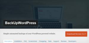 Abbildung - BackUpWordPress