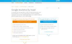 Abbildung - Google Analytics by Yoast