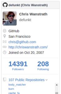 J_GitHub-Profile-Widget