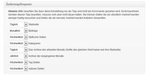 Google XML Sitemapgenerator_Änderungsfequenz