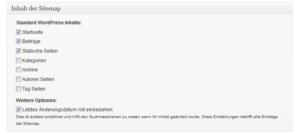 Google XML Sitemaps-Editor