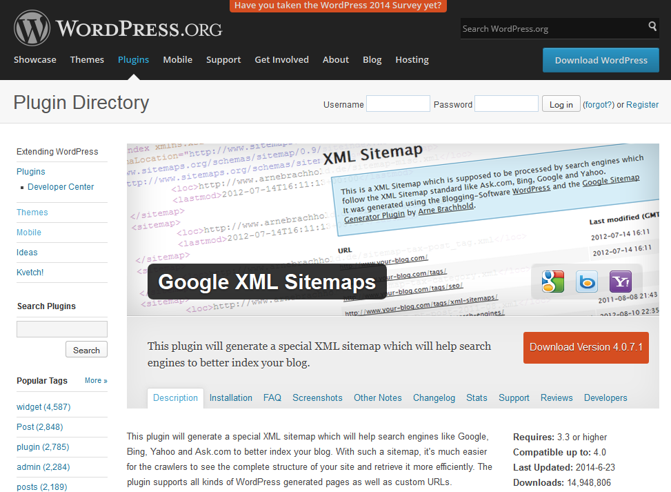google xml sitemaps plugin for wordpress slimniyaseru