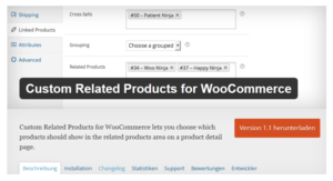 Abbildung_Custom Related Products for WooCommerce