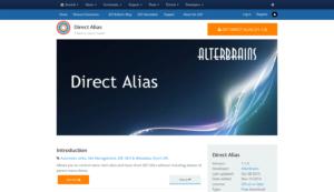 Abbildung - Direct Alias