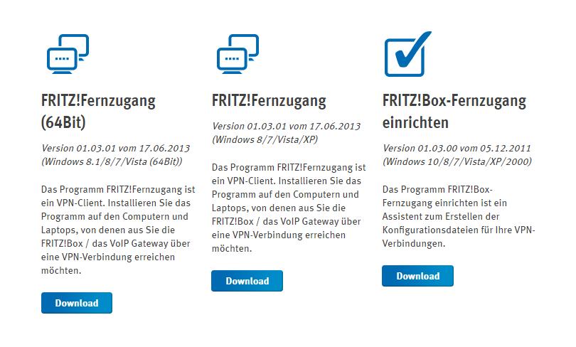 VPN-Server mit FRITZ!Box-Router einrichten