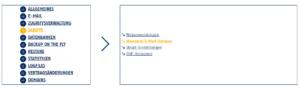 Abbildung - Standard-E-Mail-Adresse anlegen