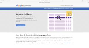Abbildung - Google-Keyword-Planer