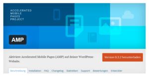 Abbildung - Plug-In AMP für WordPress