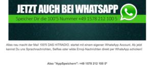 Abbildung - Whats App 100-5 Das Hitradio