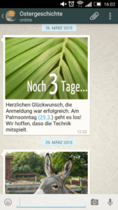 Abbilding - Whats App Bistum Essen